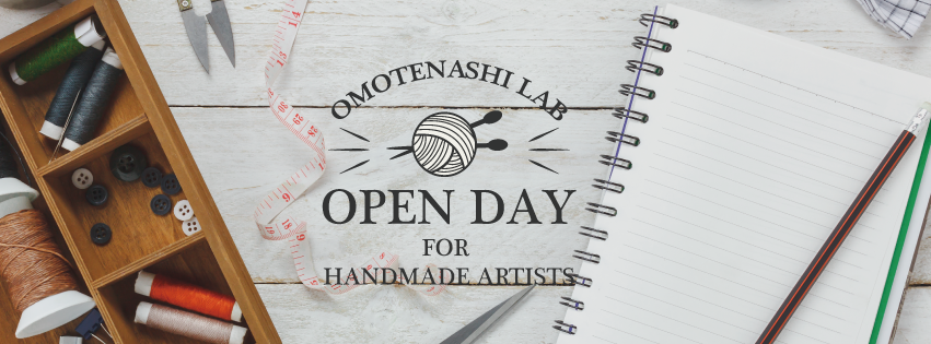 OPEN DAY for handmade artists
